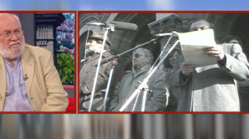 Д-р Тренчев: За мен 10 ноември си е един организиран преврат от комунистите