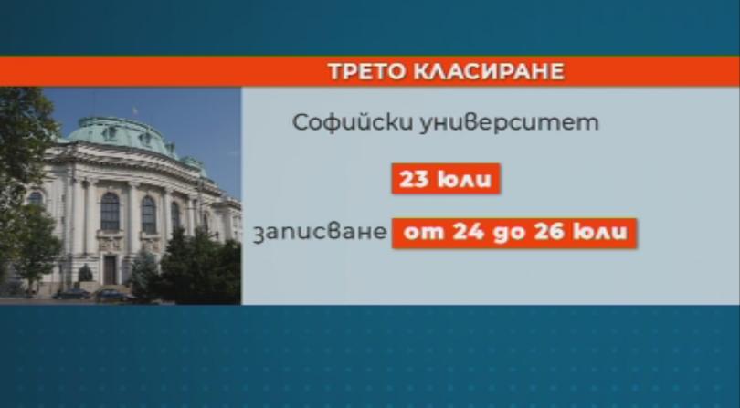 снимка 1 Кои са най-предпочитаните специалности на Софийския университет?
