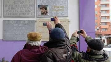Откриха паметна плоча в чест на Трифон Иванов във Велико Търново