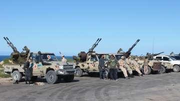 Международни призиви за спиране на огъня в Либия