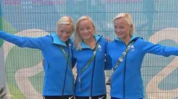Тризначки от Естония участваха в маратона в Рио