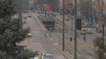 Затварят част от тунела на НДК заради изграждането на нова тролейбусна линия