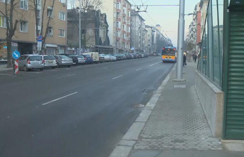 Визията на новия тротоар около метростанция