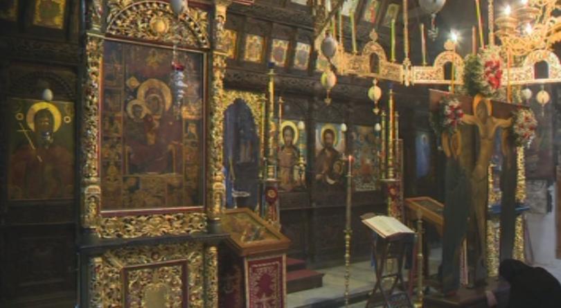 снимка 1 Екип на БНТ гостува на Разпети петък в Троянския манастир