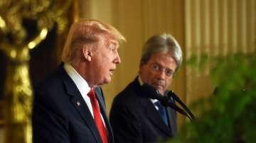 Доналд Тръмп и Паоло Джентилони изразиха съпричастност с Франция