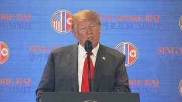 Тръмп определи срещата с Ким Чен-ун като велик момент в историята на света