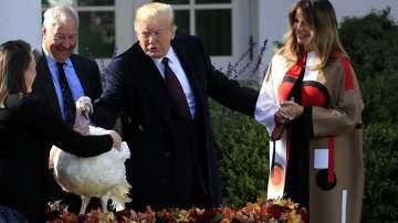 Тръмп традиционно помилва пуйка преди Деня на благодарността