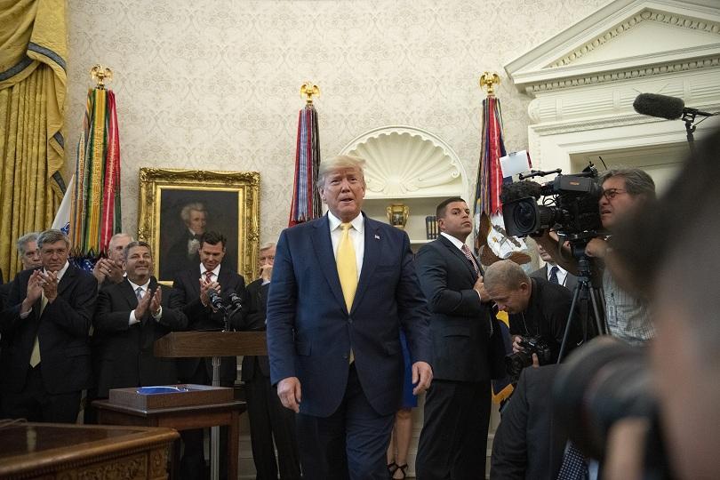 Американският президент Доналд Тръмп съобщи, че ще се срещне с