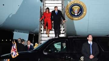 Тръмп пристигна за срещата на върха на НАТО в Лондон