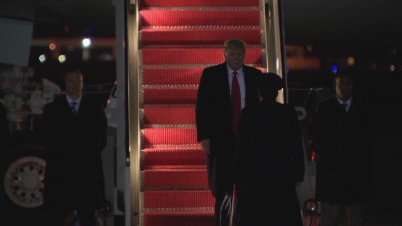Американският президент Доналд Тръмп се завърна в Белия дом след