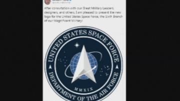 Тръмп представи логото на космическите войски