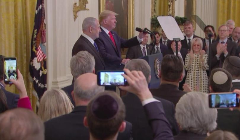 Инициативата на Белия дом за разрешаване на палестинско-израелксия конфликт, която