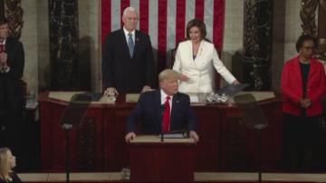 Тръмп произнесе годишната си реч За състоянието на съюза