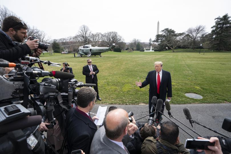 Президентът Доналд Тръмп заяви в сряда, че високите тарифи за