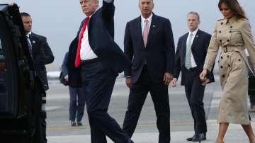 Американският президент Доналд Тръмп пристигна в Брюксел за срещата на НАТО
