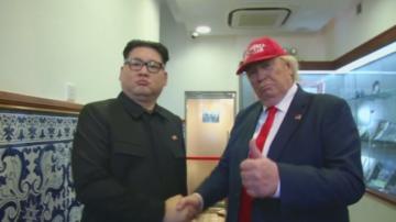 Двойници на Доналд Тръмп и Ким Чен-Ун предизвикаха сензация в Макао
