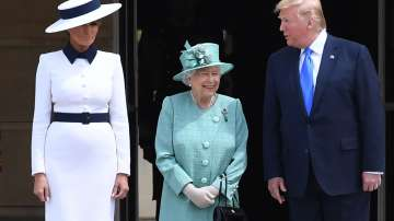 Приключи първият ден от държавното посещение на Доналд Тръмп във Великобритания