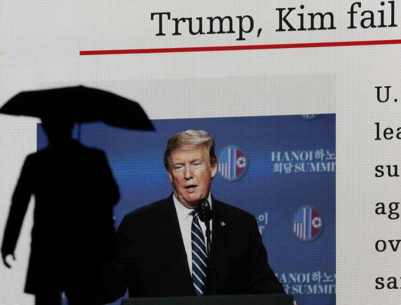 снимка 1 Провал на срещата Доналд Тръмп - Ким Чен-ун в Ханой
