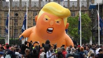 Хиляди на протест в Лондон срещу визитата на Тръмп