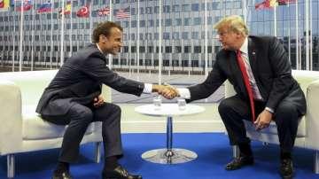 Няма разрив в отношенията между Европа и САЩ, увери Тръмп след срещата с Макрон