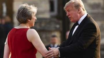 Тръмп след срещата с Мей: Никога не сме имали по-добри отношения
