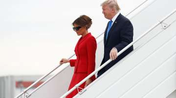 Тръмп пристигна на посещение във Франция