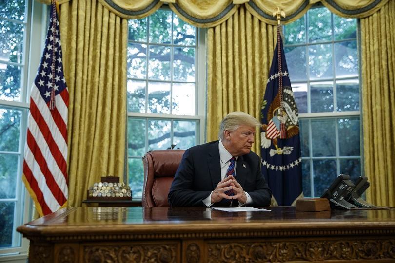 тръмп меркел проведоха телефонен разговор кризата сирия