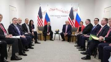 Приключи срещата между Владимир Путин и Доналд Тръмп в Осака