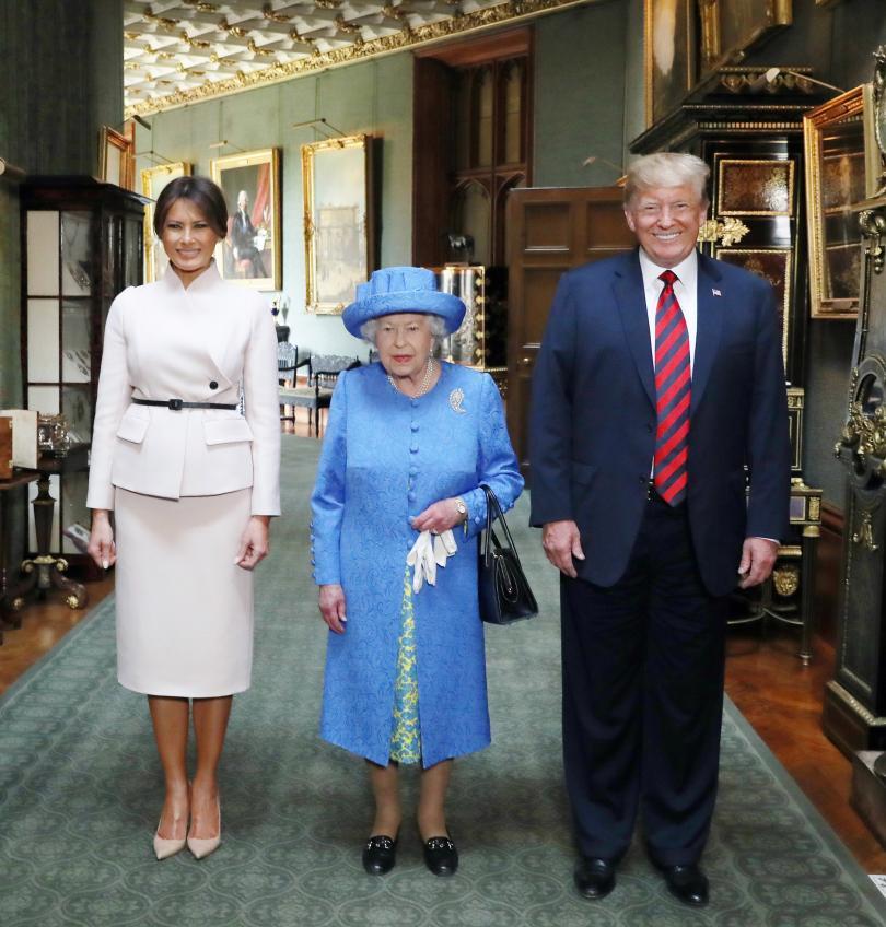 снимка 1 Доналд Тръмп ще посети отново Великобритания в началото на юни