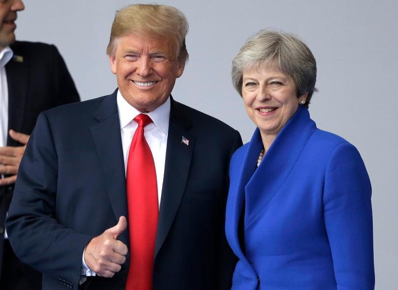 След срещата на НАТО Доналд Тръмп заминава на тридневно посещение