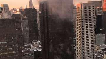 Пожар пламна в Тръмп тауър в Ню Йорк, двама пострадаха (СНИМКИ)