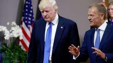 Доналд Тръмп се срещна с лидерите на ЕС