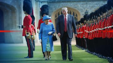 Лондон в очакване на втората визита на Тръмп