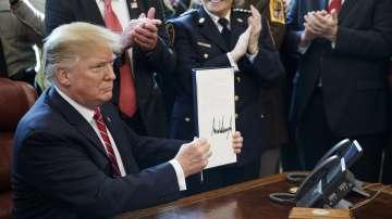 Доналд Тръмп с първо президентско вето
