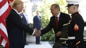 Ердоган на посещение при Доналд Тръмп
