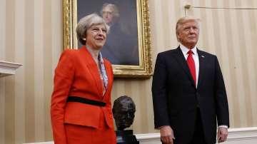 Тереза Мей се срещна с Доналд Тръмп