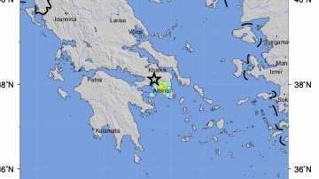 Земетресение от 5,3 по Рихтер е регистрирано в Атина