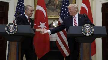 Тръмп и Ердоган приветстваха американо-турските отношения