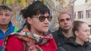Родители на деца от село Царимир излязоха на протест