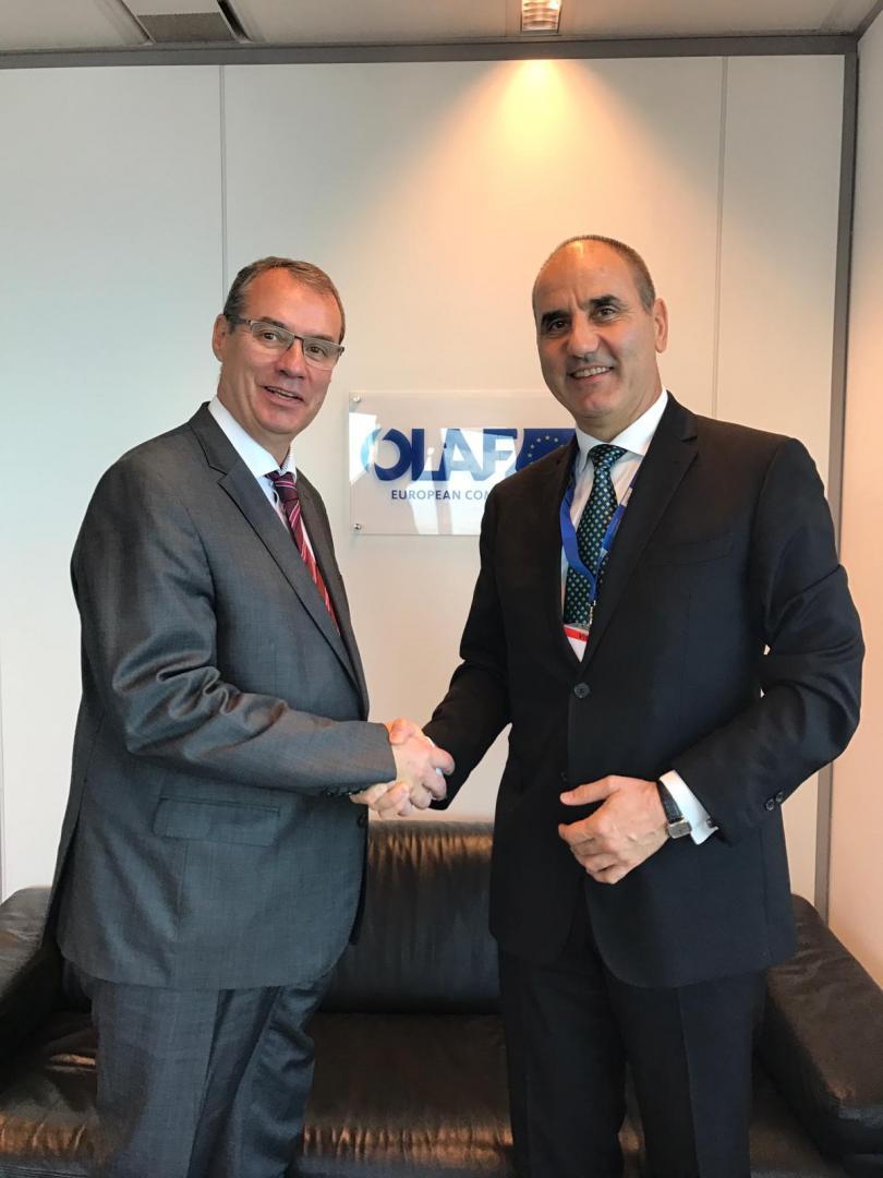 снимка 1 Цветан Цветанов се срещна с председателя на ЕНП Жозеф Дол