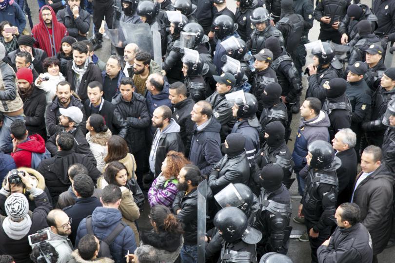 В Тунис отбелязват с вълнения седмата годишнина от Революцията на