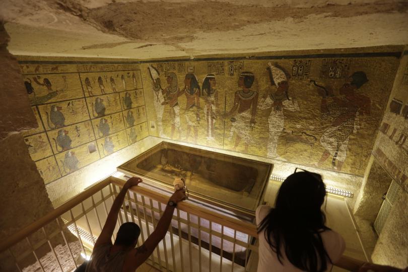 реставрираха гробницата тутанкамон намали вредата туристите