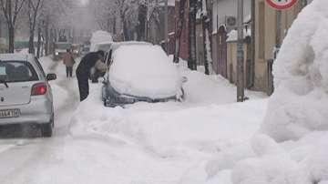 Проблеми със снегопочистването в Търговище