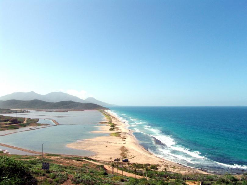 Playa La Salina, Margarita, Nueva Esparta, Venezuela