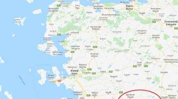 Силно земетресение в Западна Турция
