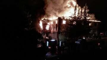 Пожар в интернат в Турция