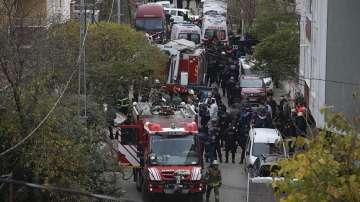 Катастрофа на хеликоптер в Истанбул, четирима военни загинаха