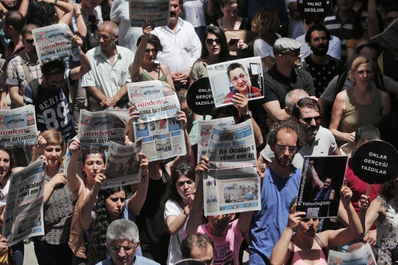 снимка 1 Година след неуспешния опит за преврат в Турция