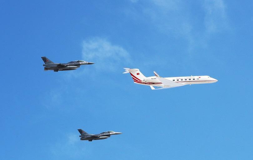 Снимка: Анкара наруши многократно гръцкото въздушно пространство