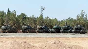 Турция съобщи, че е неутрализирала 38 бойци на Ислямска държава в Сирия